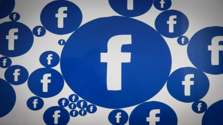 A Facebook logo is seen on various electronic devices on 28 March, 2017. (Photo by Jaap Arriens/NurPhoto via Getty Images)