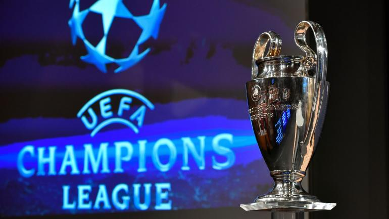 The UEFA Champions League cup is pictured prior to the ceremony for the quarter-final draw of the quarter-final draw for the UEFA Champions League football tournament at the UEFA headquarters in Nyon on December 17, 2017. / AFP PHOTO / Fabrice COFFRINI (Photo credit should read FABRICE COFFRINI/AFP/Getty Images)